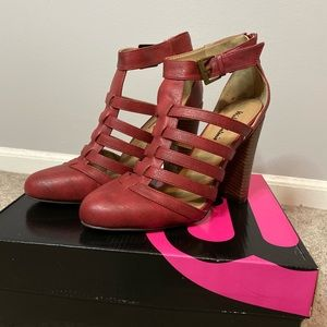 NWT Red Heels